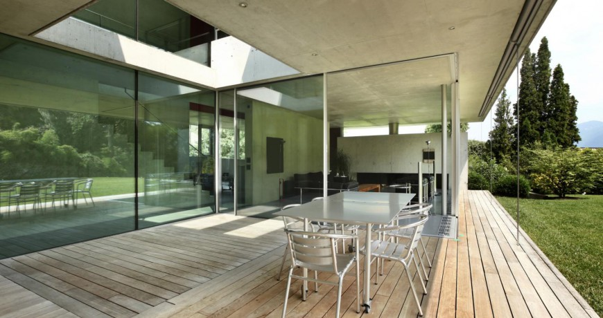 Wall Finishing Services : Glass wall finishes perfect