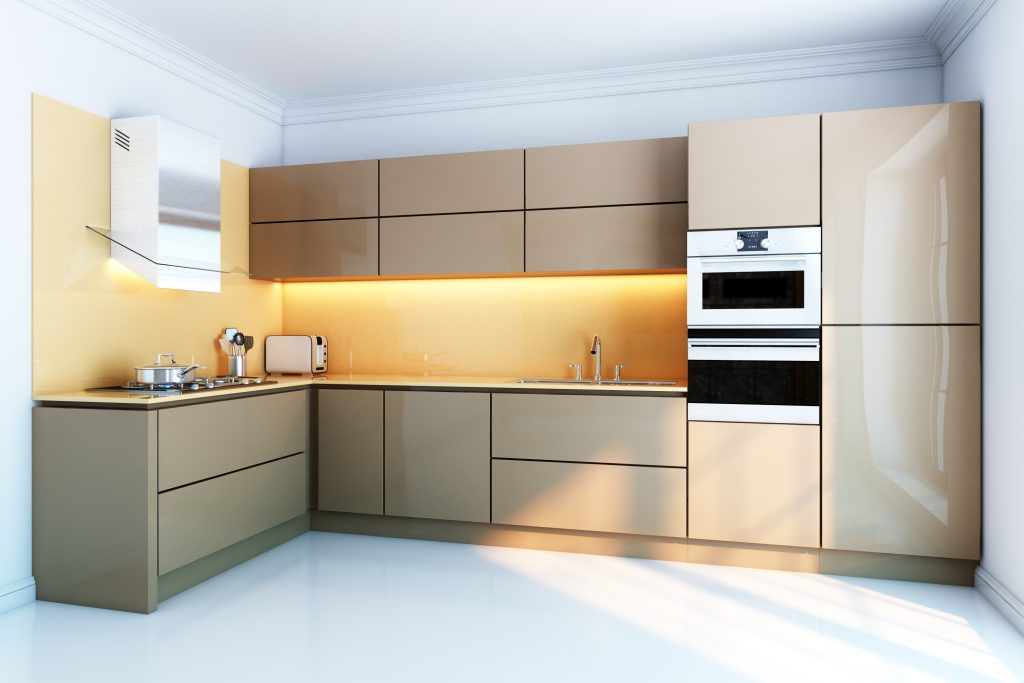 Cream Splashback