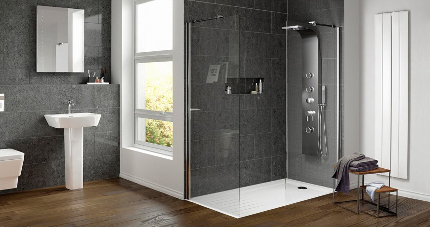 Shower wall