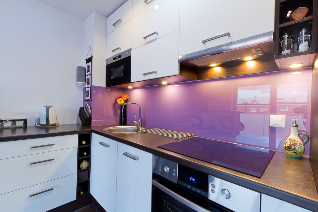 Purple Splashback