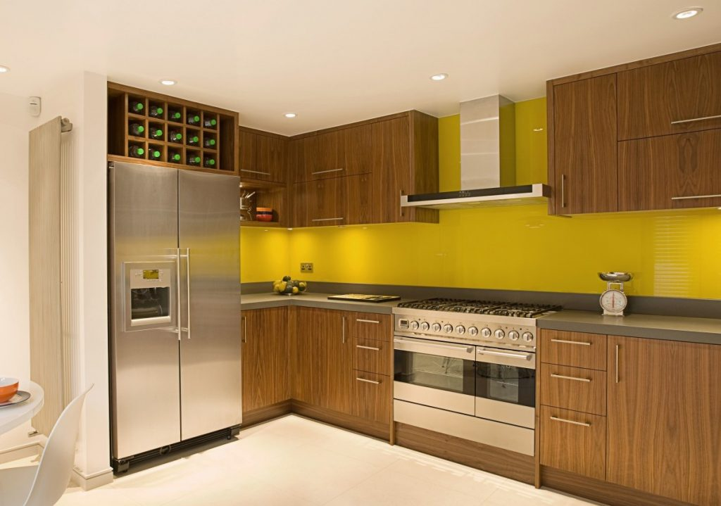 Yellow Splashback